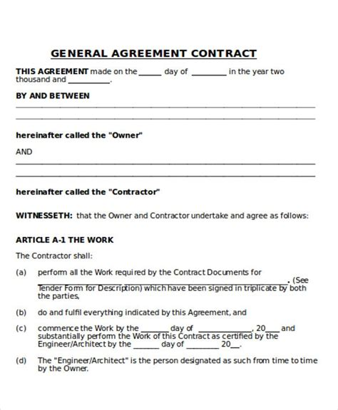general contractor contract emmamcintyrephotographycom