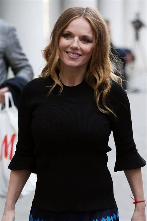 geri horner young geri horner shares adorable snap with newborn monty as she