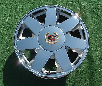1 brand new 2003 chrome cadillac deville dts 17 inch