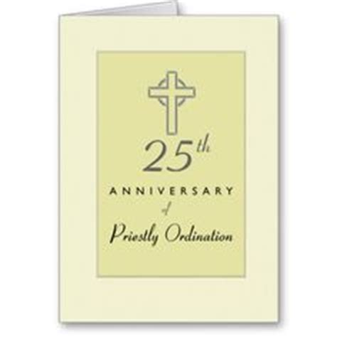 priest 50th anniversary of ordination blessing card greeting card anniversaries and cards