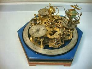 Clockwork Orrery. Maker, Unknown, probably English. c ...