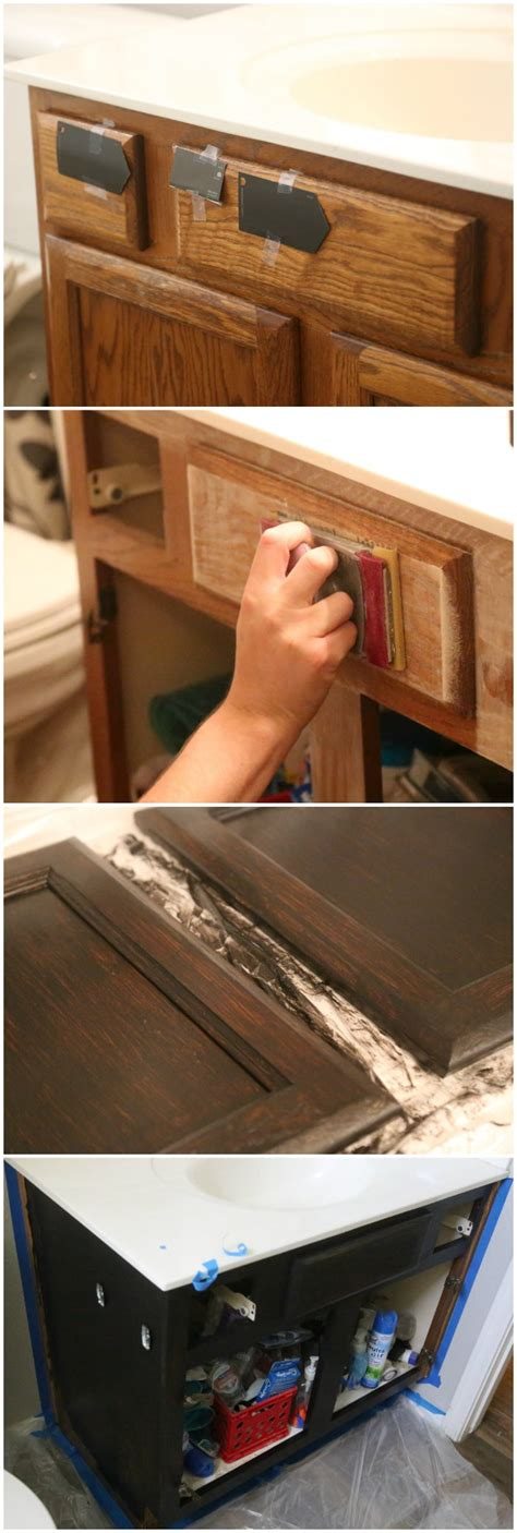 Diy Bathroom Vanity Makeover by Bathroom Vanity Makeover Easy Diy Home Paint Project