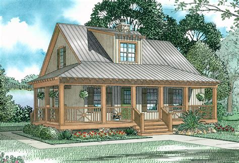 covered porch house plans covered porch cottage 59153nd architectural designs