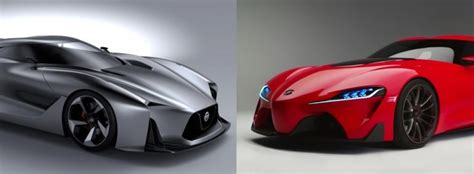 Toyota 2020 Vision by Toyota Ft 1 Vs Nissan 2020 Vision Gran Turismo Which Is