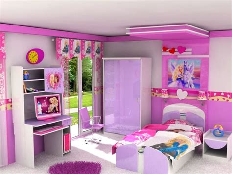 Barbie Kids Room-modern-new York