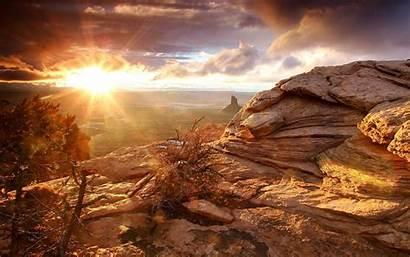 Mojave Desert Sunset Wallpaperbro