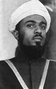 Sultan Qaboos as a young man. | Misc. People, Places and ...