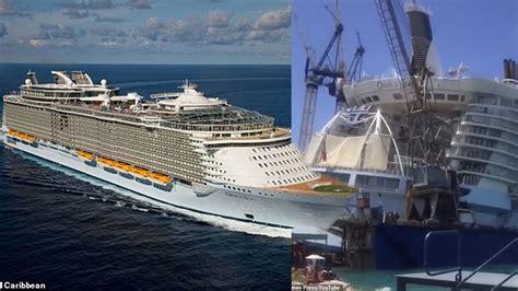 เครนก่อสร้างล้มทับ เรือสำราญหรูหมื่นล้าน