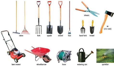 tools used for gardening how to care for lawn and garden tools