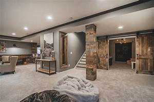 Image, Result, For, Rustic, Basement, Ideas