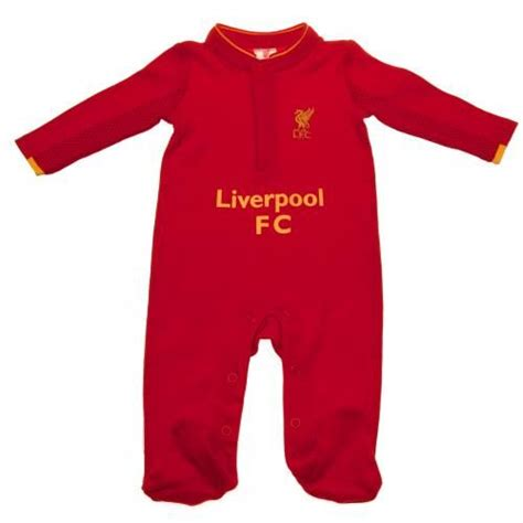 liverpool fc sleepsuit 0 liverpool fc sleepsuit 0 3 months liverpool baby clothes
