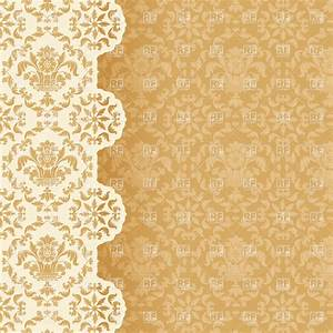 Victorian style wallpaper background Royalty Free Vector ...