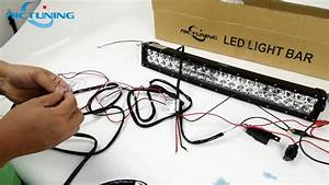 Wiring Harness Connect To The Light  U0026 Bar Led Light Bar Installation