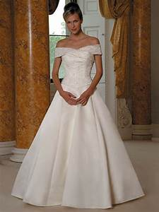 white a line with off the shoulder wedding dress ah 0360 With white off the shoulder wedding dress