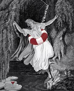 The Drowning Ophelia recipe from Shakespeare, Not Stirred ...