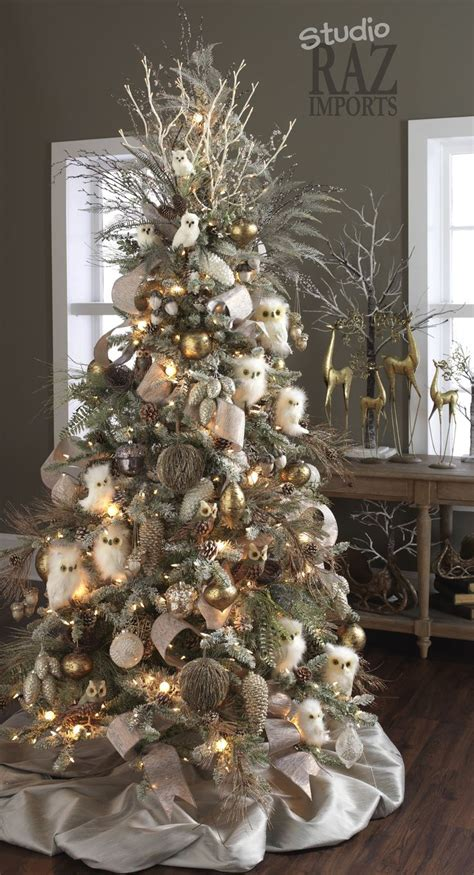 25 best ideas about owl christmas tree on pinterest