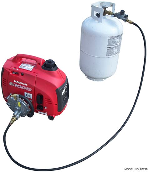 Honda generator triple fuel system