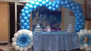 decoracion con globos de cenicienta