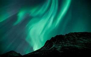 Aurora Borealis Green
