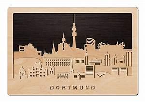 Wandbilder Aus Holz : 3d wandbild aus holz skyline dortmund einfach pers nlich ~ Frokenaadalensverden.com Haus und Dekorationen