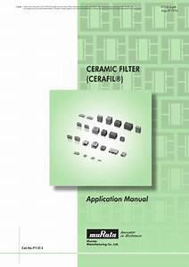 Tutti I Cataloghi E Le Schede Tecniche Murata Electronics