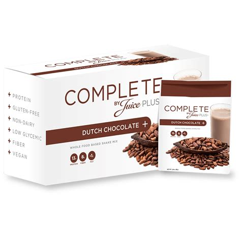 Complete Bar by Juice Plus Complete Nutrition Bars Chocolate Packets