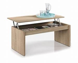 Table De Salon Ikea : great habitdesign f table basse chne naturel avec plateau ~ Dailycaller-alerts.com Idées de Décoration