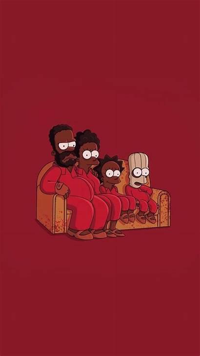 Aesthetic Wallpapers Cartoon Iphone Simpsons Crazy Dope