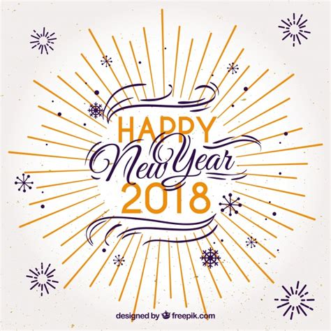 happy  year   nice letters vector