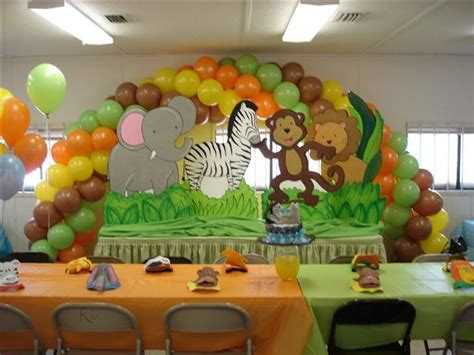 Jungle Theme Baby Shower Ideas  Free Printable Baby