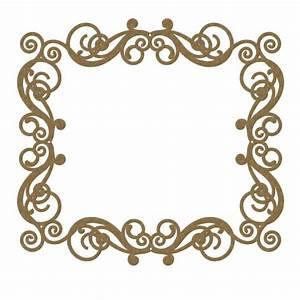 Rectangle Flourish Frame 1