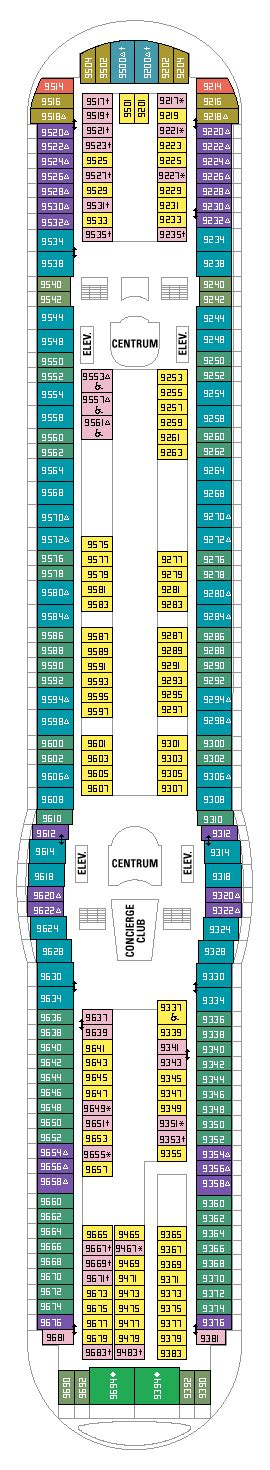 deck plans deck 9 royal caribbean navigator of the seas cruise review for