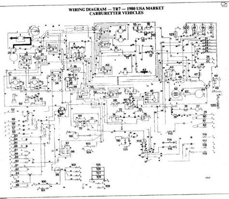1980 Mgb Wiring Diagram by Britishv8 Forum Tr 7 Wired