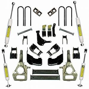 4 U0026quot  Ford Suspension Lift Kit - 1998-1999 Ranger 4wd
