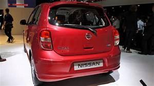 Nissan Micra 2012 : paris 2012 nissan micra elle youtube ~ Medecine-chirurgie-esthetiques.com Avis de Voitures