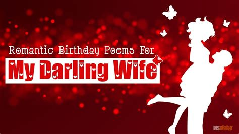 romantic happy birthday wishes  wife  love video cute birthday poems   wishing
