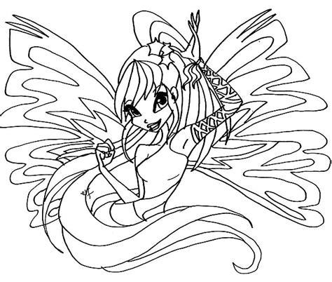 disegni da colorare winx stella immagini da colorare winx stella sirenix disegni da