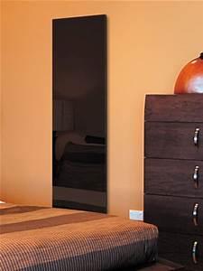 Radiateur Electrique Vertical 2000w Design : radiateur letrique fa ade en verre inertie rayonnant ~ Premium-room.com Idées de Décoration