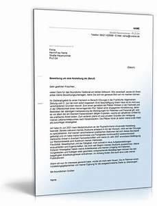 Bewerbungsschreiben muster bewerbungsschreiben chirurgie for Anschreiben bewerbung assistenzarzt muster