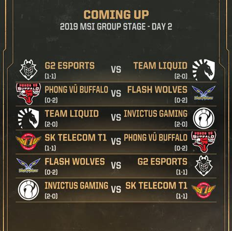 flash wolves   esports msi  group stage