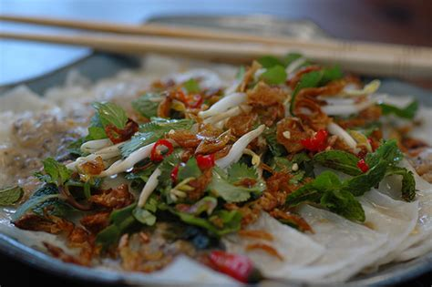 cuisine vietnamien recette bánh cuốn tôm gà banh cuon tom ga raviolis