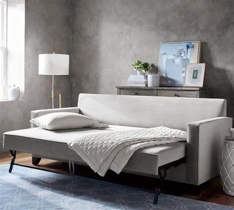 Platform Sleeper Sofa by Cameron Square Arm Upholstered Pull Up Platform Sleeper
