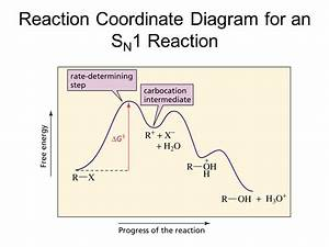 Sn1 Reaction Coordinate Diagram