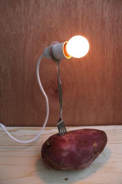 potato light bulb potato ivča vostrovska