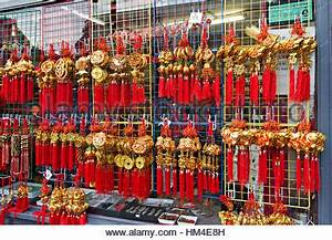 Chinatown Shop Window Display Stock Royalty Free