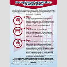 How To Measure Your Windows For Replacement  Canadian