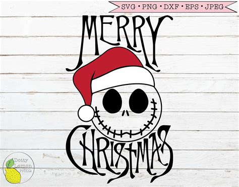 Nightmare Before Christmas Svg Files – 154+ File Include SVG PNG EPS DXF