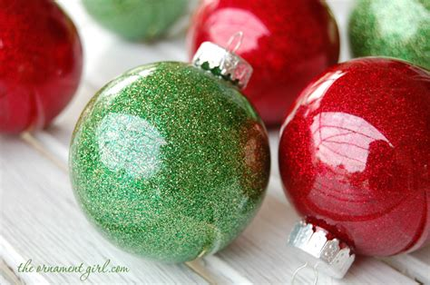 Glitter Ornaments Using Clear Plastic Bulbs White Christmas Centerpieces Decorations Craft Blogs Decoration For Kids Simple Ideas Gifts Tree Best Easy Inexpensive Crafts