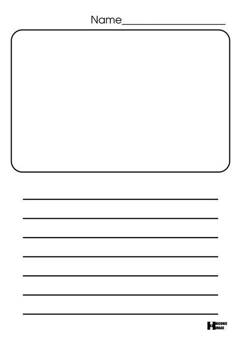 kindergarten blank writing worksheets worksheets for all
