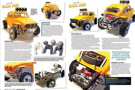 amazing baja build project tamiya sand scorcher rc car